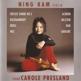Debut (1997) Ning Kam, violin Carole Presland, piano