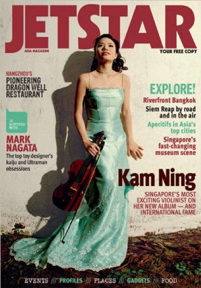 Jetstar magazine cover